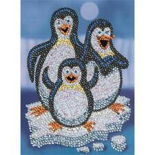 Sequin Art Junior Penguins Craft Kit 1503