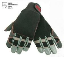 OREGON FIORDLAND CHAINSAW GLOVES MEDIUM SIZE 9 - stretch fabric & leather
