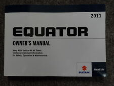 2011 SUZUKI EQUATOR Factory Owners Manual OEM FACTORY BOOK x BRAND NEW 2011