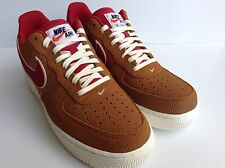 Nike Air Force 1 Low '07 LV8 (718152-206) Tawny/Gym Red Men's Size 8.5 Wmns 10