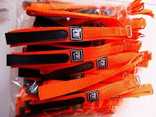 PROMO Lot 100 Bracelet Montre/Watch Bands Sport Watch 12 mm Orange Velcro Long25