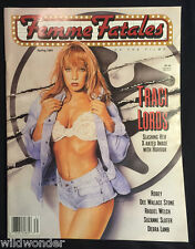 FEMME FATALES SPRING 1993 TRACI LORDS RAQUEL WELCH  SCREAM QUEENS