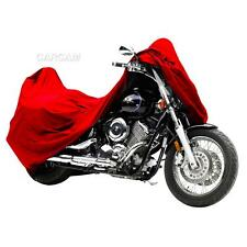 Red Motorcycle Storage Cover Fit Honda CB 125 400 450 650 700 750 900 Nighthawk