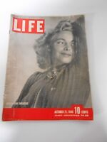 VINTAGE LIFE MAGAZINE - SEASON FOR SWEATERS - OCTOBER 21, 1940