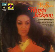 "WANDA JACKSON ""FOUR SIDES"" ROCK & ROLL DOUBLE LP CAPITOL"