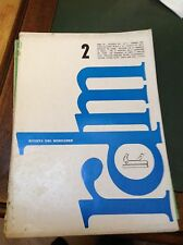 RIVISTA DEL MOBILIERE N°2 1967 RIVISTA DESIGN ARREDAMENTO E MOBILI