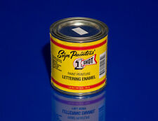 236ml Fire Red One Shot Enamel (102) 8oz Sign Writing Paint Writers