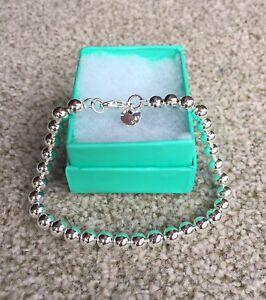 925 Silver 6mm Ball Bead Bracelet. UK Seller! Fast Dispatch!
