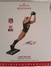 Jordy Nelson Green Bay Packers 2016 Hallmark Keepsake Ornament NIB
