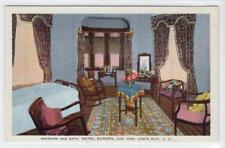 BEDROOM, HOTEL EUROPA, SAN JOSE: Costa Rica postcard (C31644)