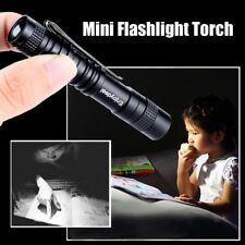 CREE XPE-R3 LED 1000 Lumens Lamp Clip Mini Penlight Flashlight Light Torch AAA