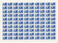 RUSSIA USSR 1966 DEFINITIVES AIRPLANE SATELLITE Mi#3283 FULL SHEET OF 100