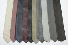 LOT OF 10 LEATHER TIES. F156