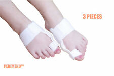 Pedimend™ 3 Piece Orthotics Hinged Splint Bunion Hallux Valgus Corrector Big Toe