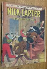 Nick Carter, n°146 : Le Protégé du pirate