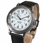 Vostok Retro 540932 K-43 Watch Classic Russian White Mens WWII 24 Hours