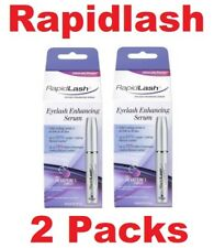 100% AUTHENTIC Rapidlash Eyelash Enhancing Serum 3ml / 0.1 oz (2 Pack)