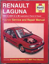Haynes Workshop Manual Renault Laguna (petrol & diesel) from 1994 to 2000.