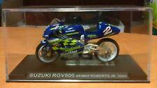 SUZUKI RGV 500 de 2000 pilotée par Kenny ROBERTS Jr en 1/24e - ALTAYA - NEUF
