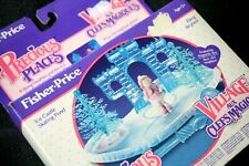 PRECIOUS PLACES: ICE CASTLE SKATE POND (FISHER PRICE 90, POLLY POCKET STYLE) NEW