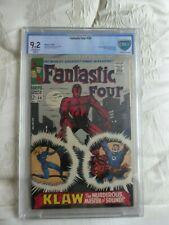 Fantastic Four #56, Vol 1,cgc,cbcs 9.2