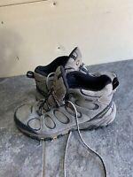 Merrell Mens Brindle Moab 2 Mid GTX Earth Hiking Shoes Sz 10 Vibram N15