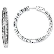 Diamond Hoop Beauty Costume Earrings