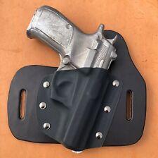 CZ 83 civilian production model Leather/kydex hybrid OWB beltslide holster