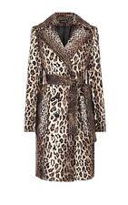 Karen Millen Pony Leopard Print Coat UK 6 With Tags*