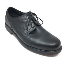 Men's Dunham Burlington Waterproof Oxfords Shoes Size 14 4E Black Leather M7