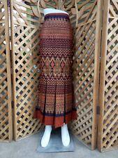 New Long Skirts for Women Thai Traditional Maxi Mermaid Cotton High Waist Medium