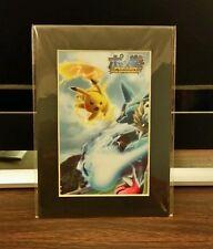 NEW Pokken Pokemon Tournament Wii U Collectible Art Cell Toys R Us Promo Card