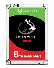 "8TB Seagate IronWolf 3.5"" SATA III 6Gbps 7200RPM 256MB Cache Internal Hard Drive"