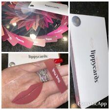 Lippy Cards (pre Colored) Lipsense Consultant Supplies Color Tester Lipstick *