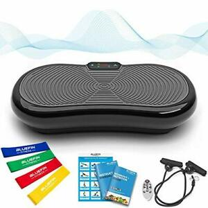 Bluefin Fitness Ultra Slim Vibration Plate   Lose Fat & Tone Up at Home   5