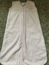 Halo Sleep Sack Fleece Back Is Best Sz Small Birth-6 Months PINK