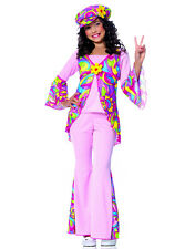 """""""Peaced Out"""" Child Size Costume Style 49719, Hippie, Flower Power, Bell Bottoms"""