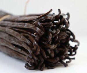 10 Fresh Madagascar Grade A Organic  Bourbon Gourmet Vanilla Beans