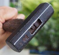 Vintage Japanese Woodworking Carpentry Tools Hammer Genno 353g signed Marumasu