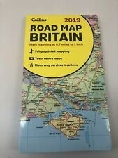 2019 Collins Map of Britain by Collins Maps 9780008272715 | Brand New