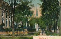 BUFFALO NY – Delaware Avenue from North Street