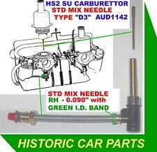 """1 1//4 /""""SU Carburatore HS2 per MG Midget MK 1 1098 1962-63 2 VASCHETTA GUARNIZIONI"""