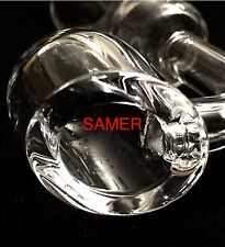 100% Quartz Banger, Super Thick 4mm, Clear 14mm Female Joint + 2 free jars