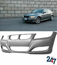 FRONT BUMPER PLASTIC WITH FOG LIGHT HOLES COMPATIBLE WITH BMW 3 E90 E91 -12 LCI