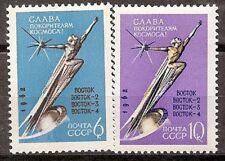 Rusia Russia URSS CCCP yv # 2585/2586 ** MNH Set  Space