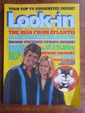 October Look-In Weekly Magazines