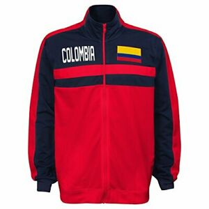 Outerstuff International Soccer Men's Colombia Track Jacket