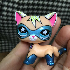 """LPS COLLECTION LITTLEST PET SHOP CUTE COMIC MASK CAT KITTY TOY 3"""""""