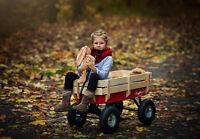 Toby All Terrain Wagon - pull along cart, trolley, truck, flyer, retro, radio,