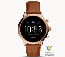 Fossil Gen 5 Smartwatch Julianna HR Brown Croco Leather FTW6063